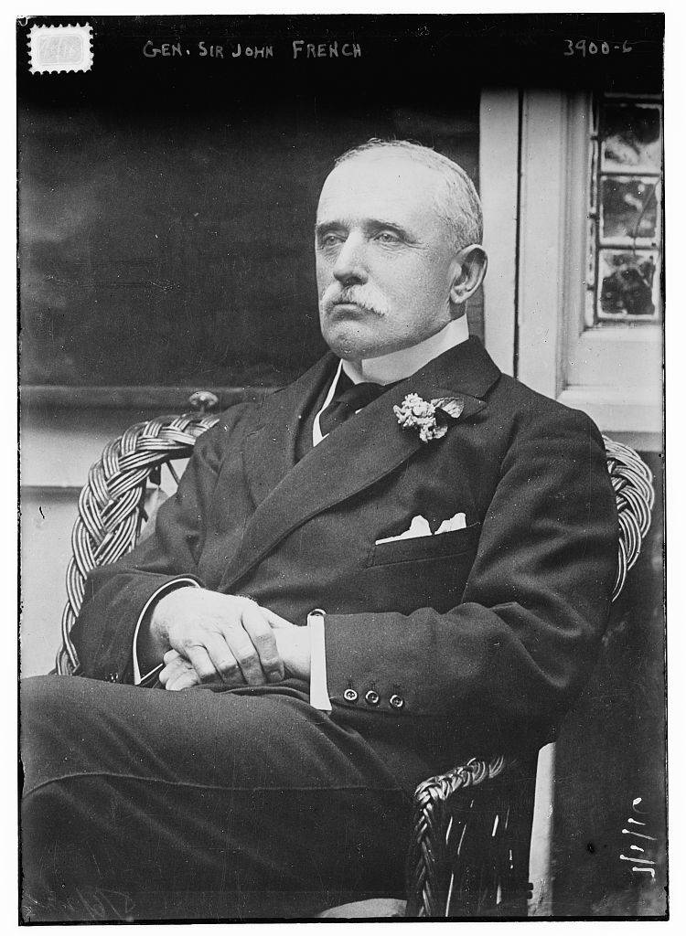 Gen. Sir John French between 1915 and 1920, Bain News Service. George Grantham Bain Collection (Library of Congress), LC-B2-3900-6